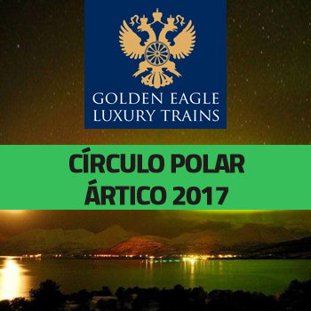 Tren Golden Eagle Express: Círculo Polar Ártico